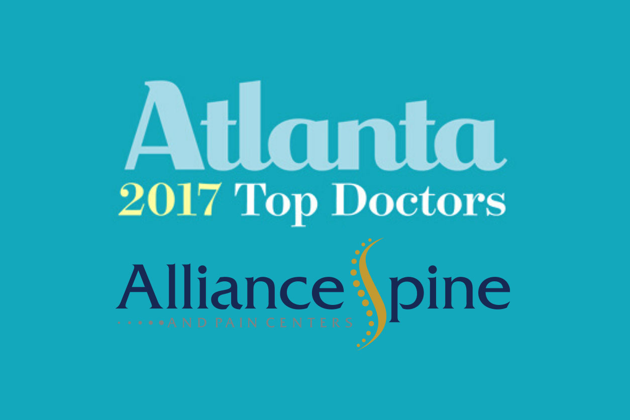 Atlanta 2017 Top Doctors Alliance Spine and Pain Centers
