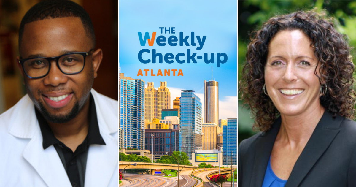 Dr. Marshall and Dr. Elkon on Weekly Check-up Atlanta