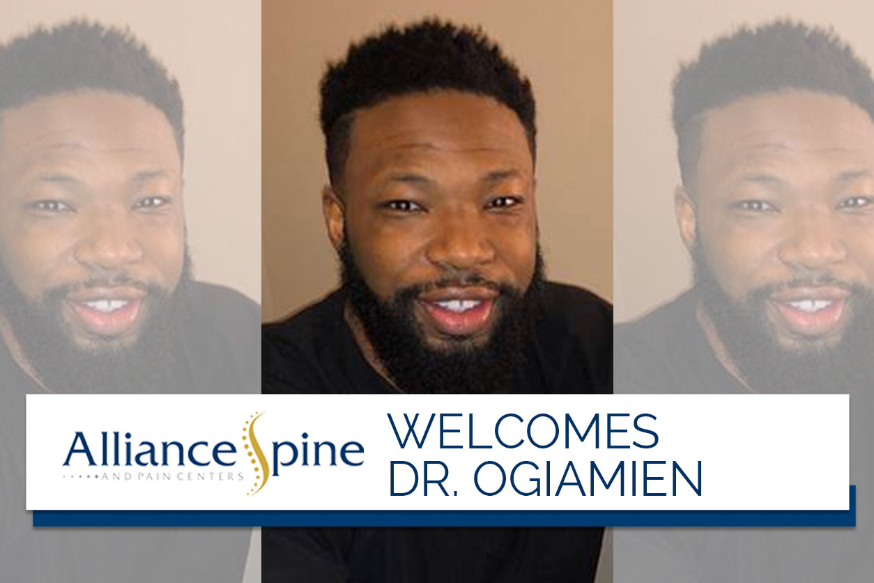 Alliance Spine Welcomes Dr. Efosa Ogiamien