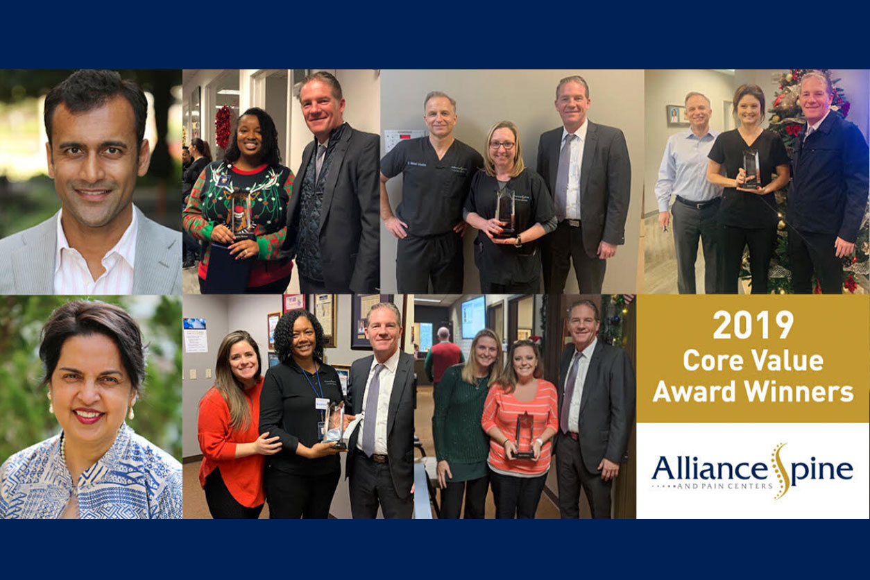 2019 Core Value Award Winners