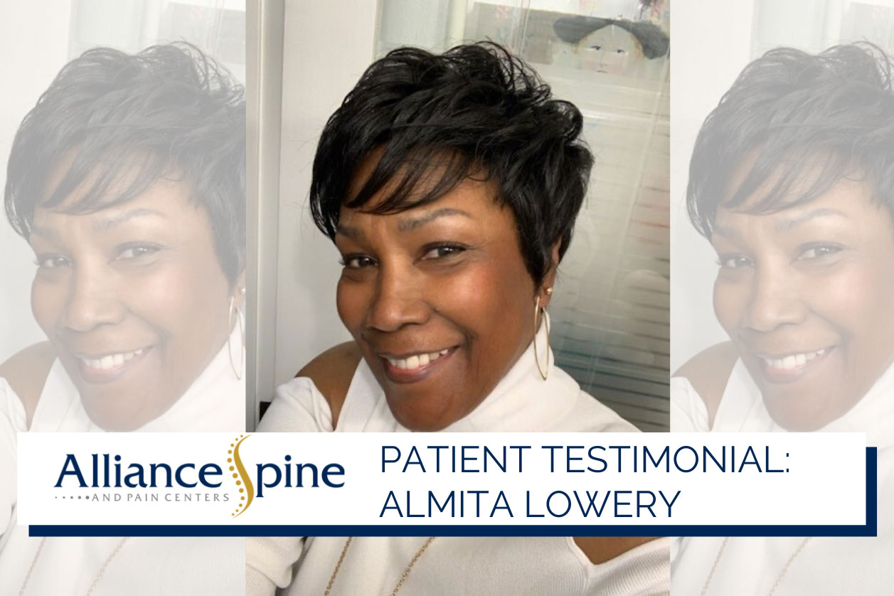 Headshot of patient Almita Lowery.
