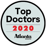Top Doctors 2020 Badge by Atlanta Magazine