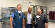 Three men standing in an operating room at Alliance Spine and Pain Centers
