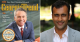 Collage of Georgia Trend magazine cover (left) and headshot of Dr. Preteesh Patel (right)